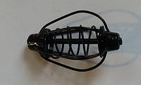 Годівниця Груша 50г 6см фарбована, колір чорний (упак 10шт), фото 1