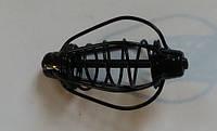 Годівниця Груша 45г 6см фарбована, колір чорний (упак 10шт)