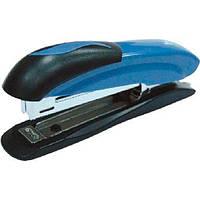 Степлер №10 Волна , Металлический синий , 16л.