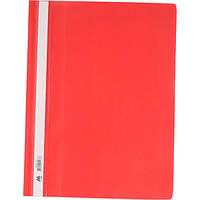 Папка-скоросшиватель А4, красная