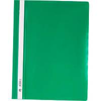 Папка-скоросшиватель А4, зеленая