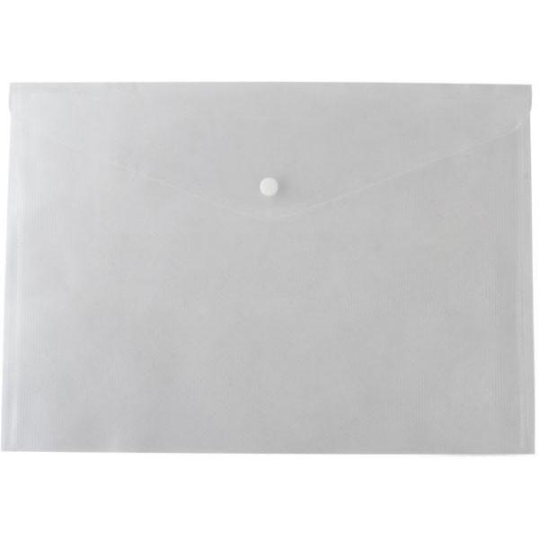 Папка-конверт А4 прозрачная Economix на кнопке E31301-00