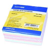 Блок бумаги для заметок микс, 400 л