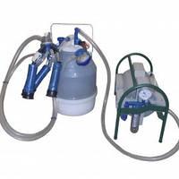 Доильный аппарат Импульс ПБК-4 от 1-3 коров (рез. Д.041) пластмассовые доильные стаканы, ведро поликарбонат 22