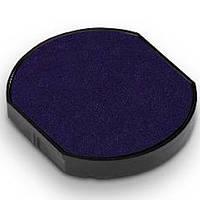 Подушка сменная штемпельная круглая 46040, синяя