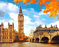 Картина за номерами Ідейка Лондон, 40*50 см КНО2134