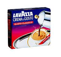 Кофе молотый из Италии Lavazza Crema e Gusto Classico Duo 500г (2х250г)