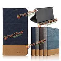 Mohoo Flip кожа чехолшт крышка карта карман подставка для SONY Xperia Z5 премии