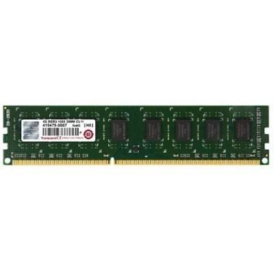 Модуль памяти DDR3 4GB 1600 MHz Transcend (JM1600KLH-4G)