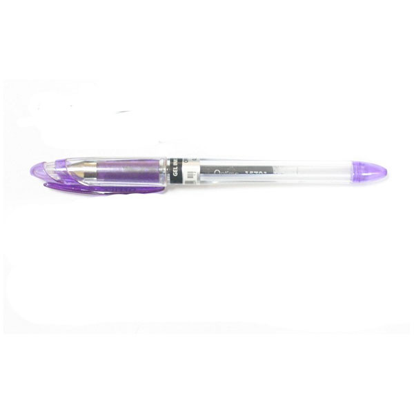 Ручка гелевая Optima Office, фиолетовая