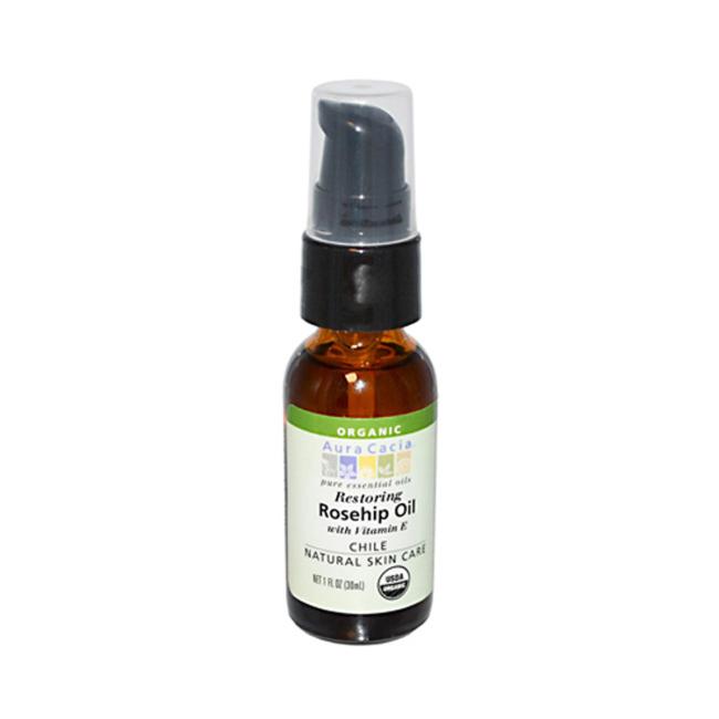 Органическое масло шиповника с витамином Е, 30 мл