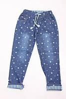 Оригинальные женские джинсы в звездочки