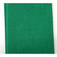 Бумага гофрированная 55% Зеленая