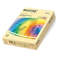 Бумага светло-желтая А4 500 л 80 г/м Maestro Color YE23