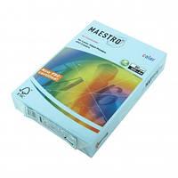 Бумага А4 Maestro Color MB30 голубой