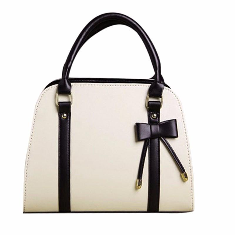 7e93464f598f Женская кожаная сумка с короткими ручками. Сумка с бантом. Сумка через  плече. Отличное качество