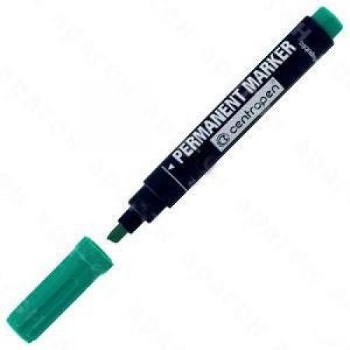 Маркер 8576 Permanent клиновидний, зелений