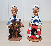 Набор из 2 фигурок Моряки, серия Морские сувениры