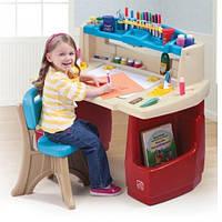 Парта детская со стулом Step2 7025 Delux