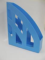 Лоток вертикальный Бюджет голубой