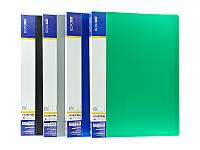 Папка пластиковая с 10 файлами Economix зеленая