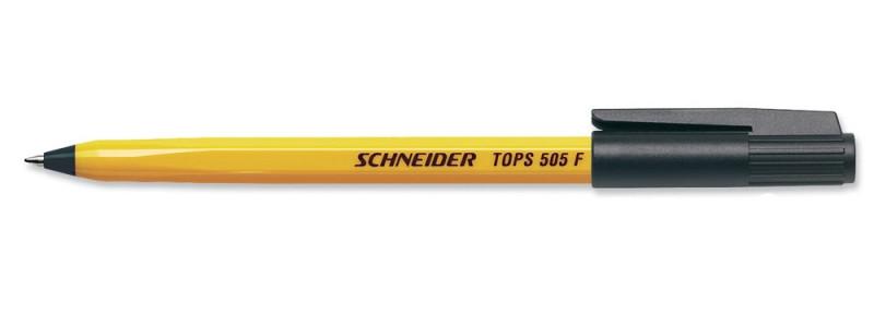 Ручка шариковая Schneider TOPS 505 F,чёрная S150501
