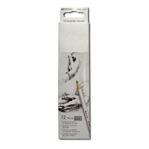 Набор карандашей 12 шт. 3H- 4B Marco 7000/12