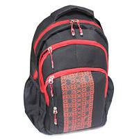 Рюкзак Вышиванка, красный