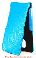 Чехол Status Flip для Doogee Y300 Blue