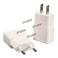 Mini Dual USB 5V 2A домой путешествия зарядное устройство питания адаптер зарядки на телефон Tablet PowerBank