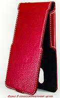 Чехол Status Flip для HTC One mini M4 Red