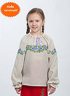 Эксклюзивная вышиванка на девочку из новой коллекции мастеров волыни