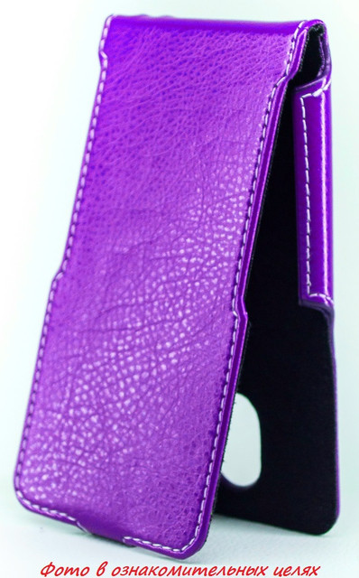 Чехол Status Flip для Huawei Mate 7  Purple