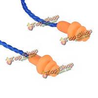 Wood силиконовые формы мягкие беруши средства защиты органов слуха теплые наушники со шнуром