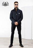 """Куртка мужская """"philipp plein """" РО1049 черная"""