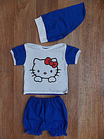 Летний костюм для девочки Hello Kitty