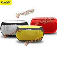 AWEI Y200 беспроводная Bluetooth  2500 вход маджонг TF карта AUX Handfree динамик с микрофоном
