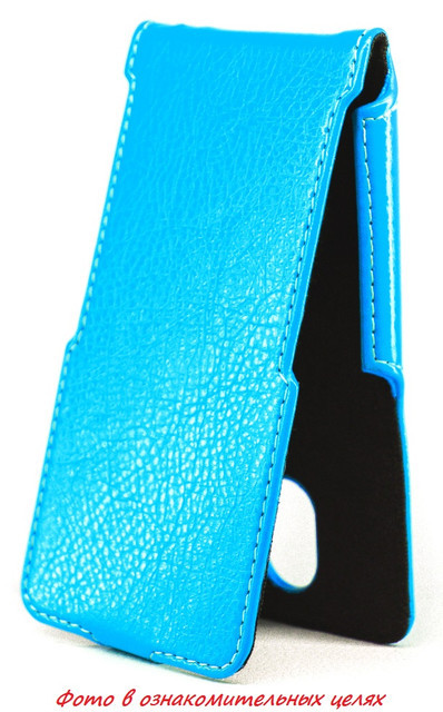 Чехол Status Flip для LG G4s H734  Blue