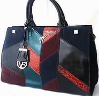 Эффектная сумка из натуральной кожи от  Velina Fabbiano Новинка