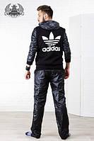 Спортивный костюм мужской утепленный РО1042