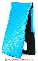 Чехол Status Flip для LG Leon Y50 H324  Blue