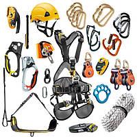 Спорядження для промислового альпінізму. Основні складові.