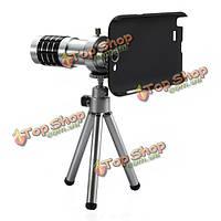 12X зум-объектив камеры телескопа штатив для Samsung Galaxy Note 2 N7100