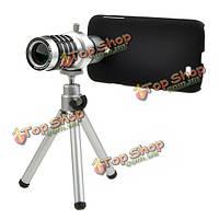 12X Zoom камеры телефона телескоп чехол для Samsung Galaxy S4 i9500 от царапин и пыли