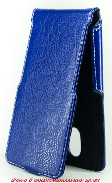 Чехол Status Flip для Oukitel K4000 Dark Blue