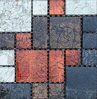 Декоративная мозаика для ванной Vivacer RM01 смесь цветов