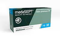 Перчатки Латексные medaSEPT latex Без пудры 100шт