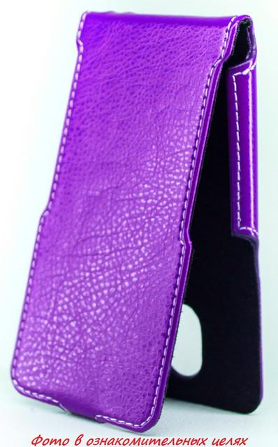 Чехол Status Flip для Samsung E1200 Purple
