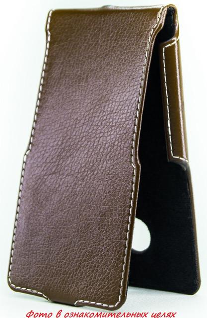 Чехол Status Flip для Samsung Galaxy A7 A700 Brown