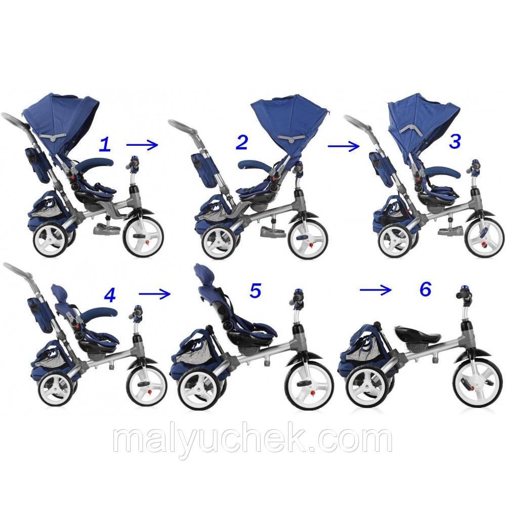 Велосипед триколісний Sun Baby Little Tiger T500 Maroon  продажа ... 29bb056911532